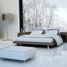 falquon flooring high gloss flat edge white laminate flooring