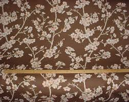 Cherry Blossom Upholstery Fabric Barbara Barry Etsy