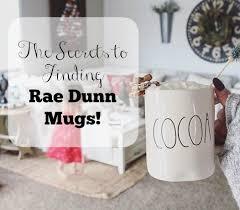 rae dunn where and how to find rae dunn mugs the glam farmhouse