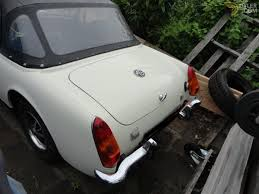 mg midget cabriolet roadster 1973 white for sale dyler