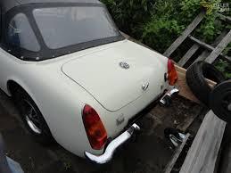 mg midget cabriolet roadster 1973 white for sale dyler