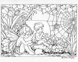 90 faries images coloring books drawings