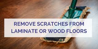 how to remove scratches from wood or laminate floors