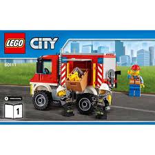 truck instructions fire utility truck set 60111 instructions brick owl