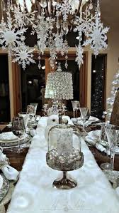 snowflake table top decorations 33 eye catching centerpieces for christmas centerpieces eye and
