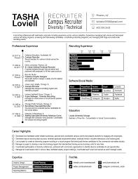 recruitment specialist resume resume design u2014 blue iris studio