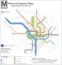 the metro map metro maps dc transit guide