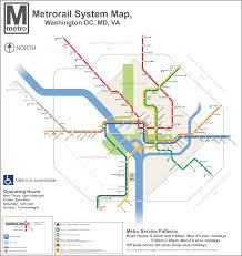Metrorail Map Metro Maps U2013 Dc Transit Guide