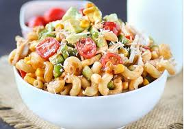 chicken pasta salad barbecue chicken pasta salad recipe swanky recipes