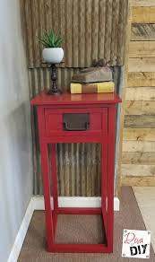 How To Repaint A Nightstand How To Paint Furniture With Spray Paint Diva Of Diy