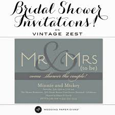 27 attractive wedding bridal shower invitation design ideas