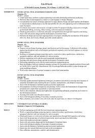 entry level resume entry level civil engineer resume sles velvet