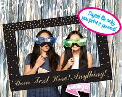 do it yourself photo booth print it yourself photo booth prop picture frame photo prop