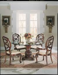 American Drew Dining Room Furniture by American Drew Bob Mackie Home Round Dining Collection D662 701r At