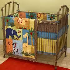 Safari Crib Bedding Set Paradise Baby Boy Jungle Safari Crib Bedding Set Baby Bed