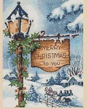 christmas cross stitch patterns ebay