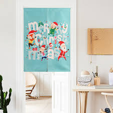 Christmas Kitchen Curtain by Online Get Cheap Christmas Curtains Kitchen Aliexpress Com