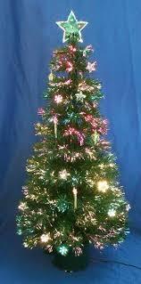 fiber optic tree optic santa and l