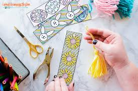 printable easter bookmarks to colour i should be mopping the floor free printable easter coloring bookmarks