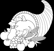 free thanksgiving art thanksgiving free clip art cornucopia wikiclipart