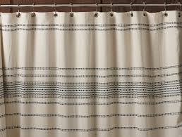 Shower Curtain Striped Farmhouse Shower Curtain Free Home Decor Oklahomavstcu Us