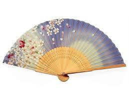 japanese folding fan buy japanese handheld folding fan white and plum flowers hf 234