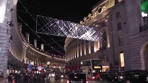 regent street london christmas lights 2015 youtube