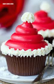 best 25 santa cupcakes ideas on pinterest christmas cupcakes