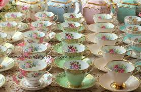 vintage china the vintage table vintage china hire perth the collection
