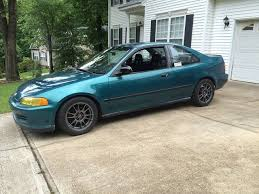 1995 honda civic dx coupe eg street track day car