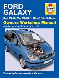 ford galaxy petrol u0026 diesel 00 06 haynes repair manual