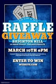 design a winning raffle flyer postermywall