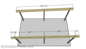 Attached Carport Plans Flat Roof Carport Plans Myoutdoorplans Free Woodworking Plans