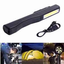 smart electrician rechargeable work light 2 in 1 cing led cob light usb rechargeable work inspection
