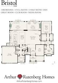 Arthur Rutenberg Homes Floor Plans Bristol 1300f Mt Plan Collection