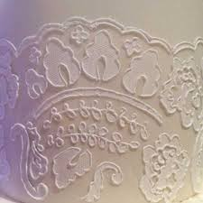 Lace Cake Decorating Techniques 35 Best Cake How 2 Stencils Onlay Tutorials Images On Pinterest