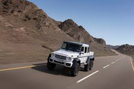 mercedes 6x6 g class mercedes 544 hp g 63 amg 6x6 roader to production