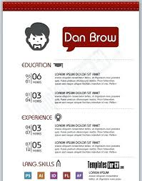 Free Graphic Design Resume Templates by Best Free Resume Template Designs With Graphics About Contemporary