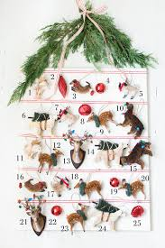 christmas ornament advent calendar pottery barn