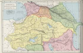 Medieval Maps Maps Of Medieval Armenia And Its Neighbours Armenian History Com