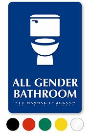 Bathroom Occupied Signs All Gender Bathroom U0026 Toilet Signs