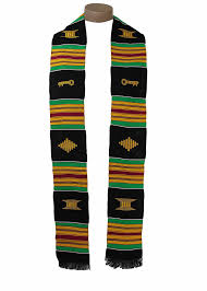 kente stole traditional kente stole by gold coast africa the black depot