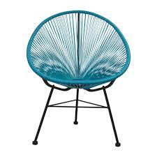 Acapulco Outdoor Chair Acapulco Outdoor Lounge Chair Blue The Khazana Home Austin