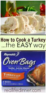 simple how to tips for cooking a turkey and other great
