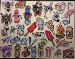 flash tattoo jobs un lucky you 8 spots for 13 friday the 13th tattoos