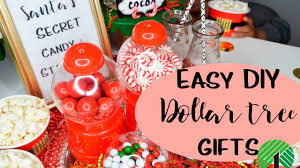 christmas party favor candy bar dollar tree diy youtube