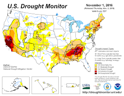 United States Storm Map by Drought October 2016 State Of The Climate National Centers