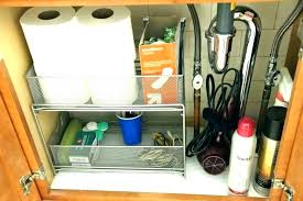bathroom sink organizer ideas under bathroom sink storage freejobposting info