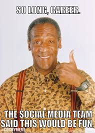 the bill cosby cosbymeme hashtag backfired immediately