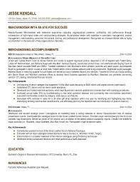 Fashion Merchandising Resume Sample by Assistant Merchandiser Cover Letter Fashion Merchandiser Sample